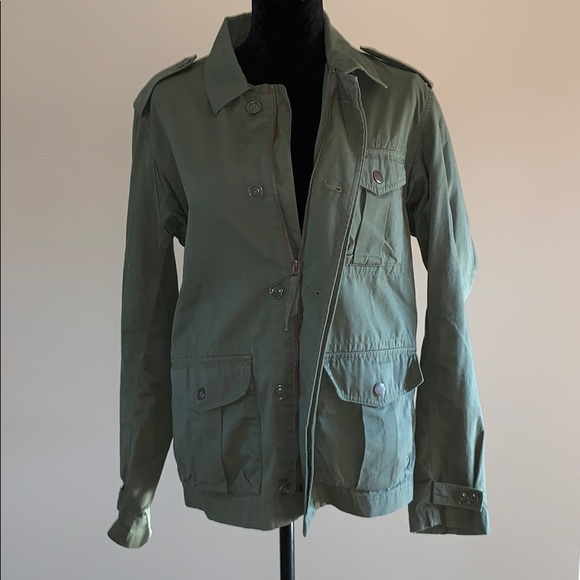 J. Crew Jackets & Blazers - Army Green JCREW Jacket